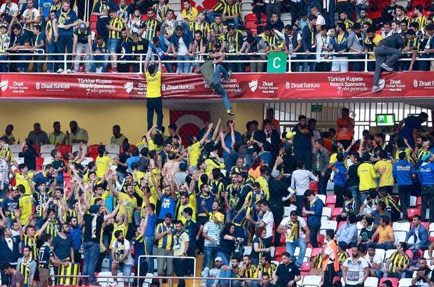 Fenerbahçeli taraftarların korkutan hareketi