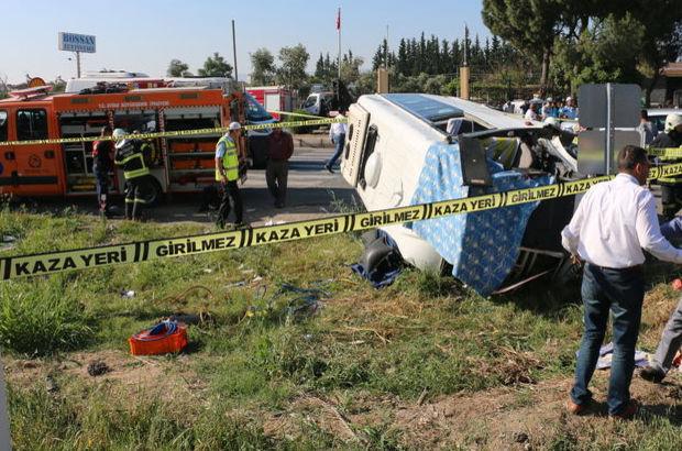 SON DAKİKA! Aydın İncirliova'da öğrenci servisi kazası: 1 ölü, 18 yaralı