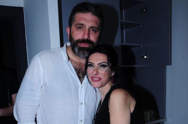 Gülay ve eşi Serkan Boran objektiflere birlikte poz verdi