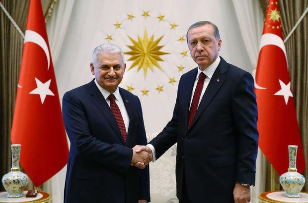 Erdoğan ve Yıldırım'dan Galatasaray'a tebrik