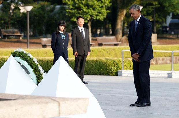 ABD Başkanı Barack Obama'dan Hiroşima'ya ziyaret