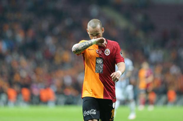 Wesley Sneijder kadrodan çıkarıldı