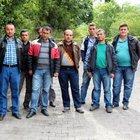 Eylemdeki madencilere Ramazan yardımı