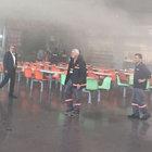 Bursa Şehirlerarası OtobüsTerminali'nde yangın