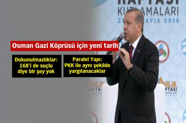 Cumhurbaşkanı Erdoğan'dan CHP'ye: Küfredecek kadar alçaldılar, ahlak diye bir şey yok