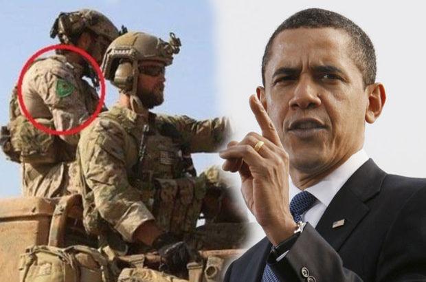 ABD'li askerlerin taktığı YPG arması tartışılıyor