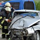 Çorum'da iki otomobil çarpıştı : 2 ölü
