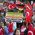 Berlin'de büyük protesto