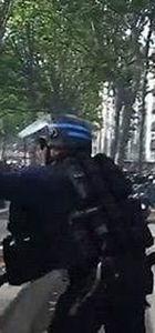 Fransız polisin müdahalesi tartışma yarattı