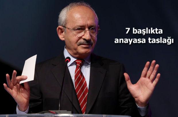 CHP'nin Anayasa taslağında 'daha güçlü Meclis' vurgusu dikkat çekti