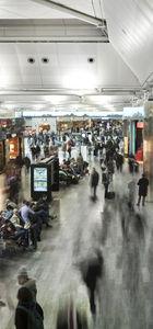 Havalimanında aranmayaengel olana bin 500 TL ceza