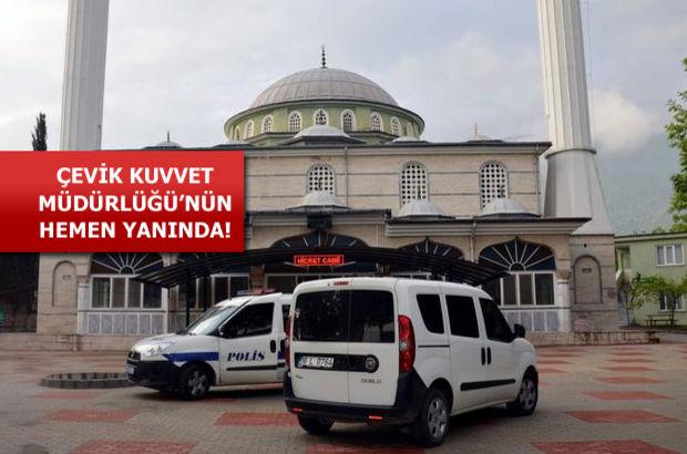 Bursa'da cami tuvaletine bırakılan tüp paniğe neden oldu
