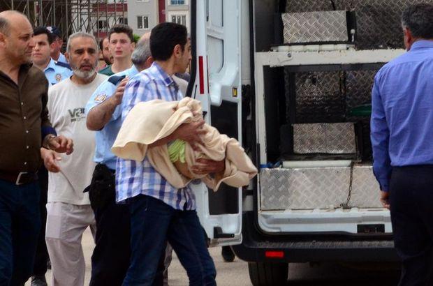 Gaziantep'te 12. kattan düşen bebek öldü