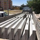 Siirt'te kritik noktalar beton bariyerlerle çevrildi