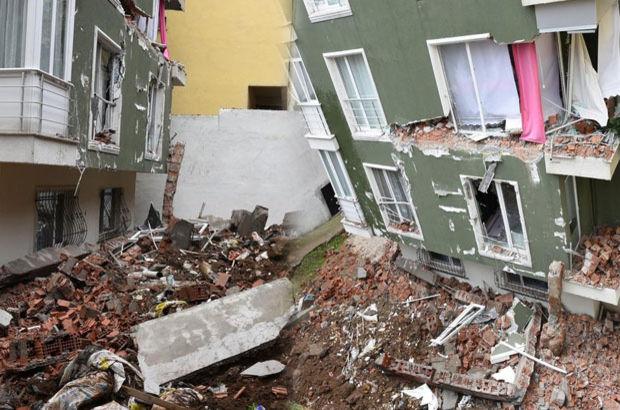 Sinop'ta şiddetli yağmur heyelana neden oldu