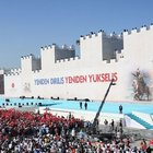 İstanbul'un Fethinin 563. Yıldönümü töreninden dikkat çeken slogan!