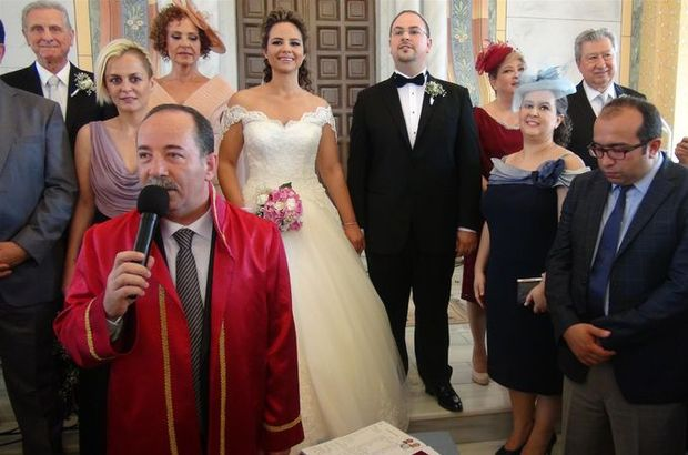 Edirne'de 41 yıl sonra sinagogda ilk nikah yapıldı