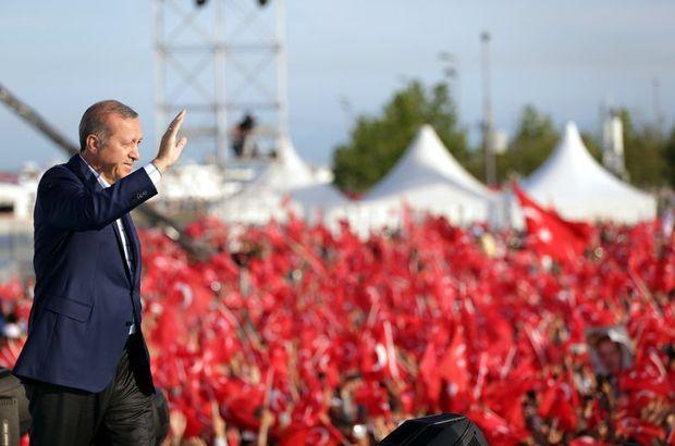 Cumhurbaşkanı Erdoğan'dan Yenikapı'daki şölen için teşekkür!