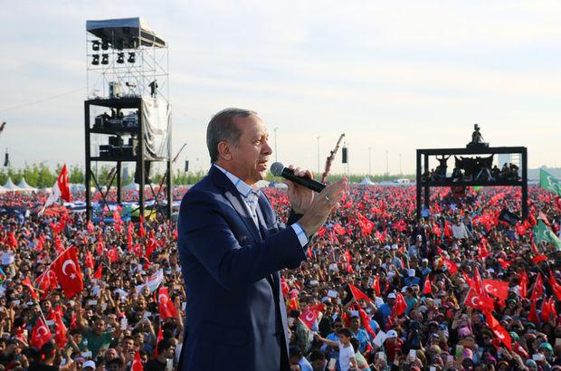Erdoğan: Hesaplaşma 563 yıldır devam ediyor