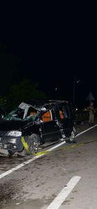 Tokat'ta kamyonet devrildi: 2 ölü, 3 yaralı
