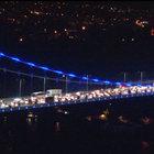 Fatih Sultan Mehmet Köprüsü'nde aynı anda iki intihar girişimi