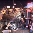 Beylikdüzü'nde trafik kazası: 1 ölü, 3 yaralı!