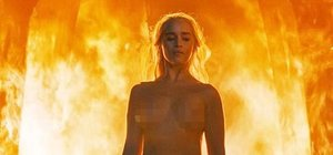 Emilia Clarke, 'Game of Thrones'taki o sahneyi anlattı