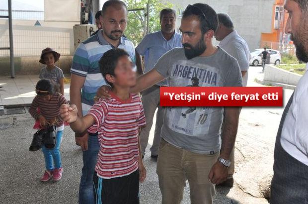 Bursa'da düğüne gelen vatandaşlar ile dolmuş şoförü arasında kavga