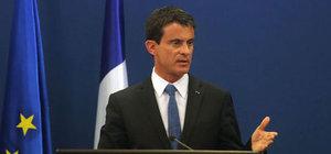 Fransa Başbakanı Manuel Valls konuştu