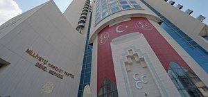Çağrı Heyeti MHP kurultayı için tarih verdi