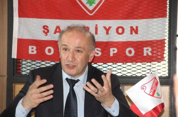 Boluspor Başkanı Necip Çarıkçı: