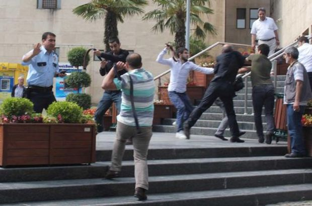Bursa'da cinayet davası öncesi meydan kavgası