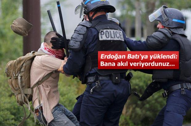 Gezi'yi hatırlattı: Endişeliyim, Fransız polisinin şiddetini kınıyorum