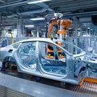 Audi'de üretime su baskını engeli