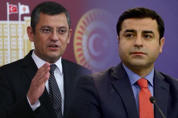 CHP'li Özgür Özel'den, Selahattin Demirtaş'a