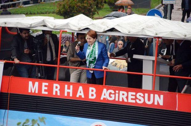 MHP Genel Başkan adayı Meral Akşener: Bize ilk defa muhalefet deniliyor