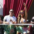 Jennifer Lopez'in mini şortu yürek hoplattı