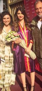 Selen Görgüzel'in kızı İlknaz mezun oldu