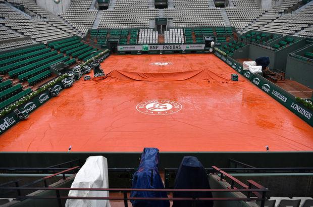 Roland Garros'da 16 yıl sonra maçsız gün