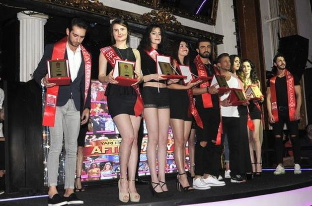 'Best Model of Turkey' yarışmacıları bir arada