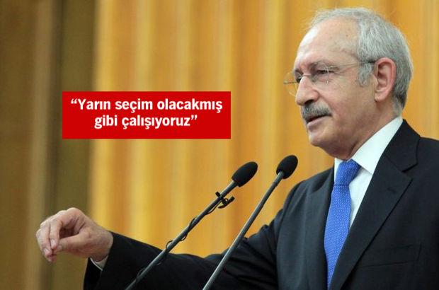 CHP lideri Kılıçdaroğlu: Davutoğlu'nun gidiş şifrelerini bulduk