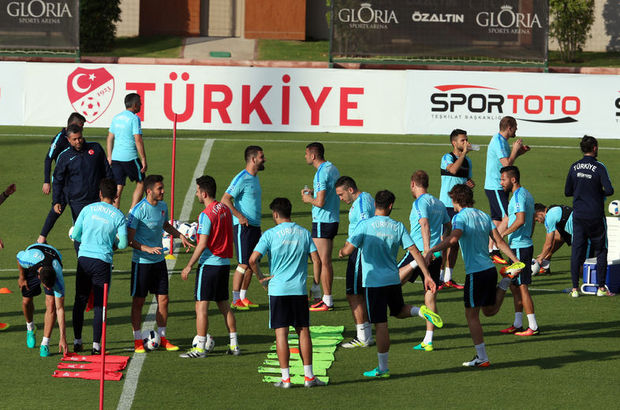 A Milli Futbol Takımı'na doping kontrolü