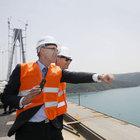 Büyükelçi ve konsoloslar 3. köprüyü inceledi