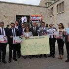 CHP, TBMM'de Gezi eylemi düzenledi
