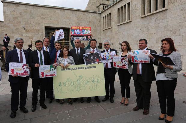 CHP'den, TBMM'de Gezi eylemi