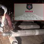 Hatay'da yarım tonluk uyuşturucu operasyonu