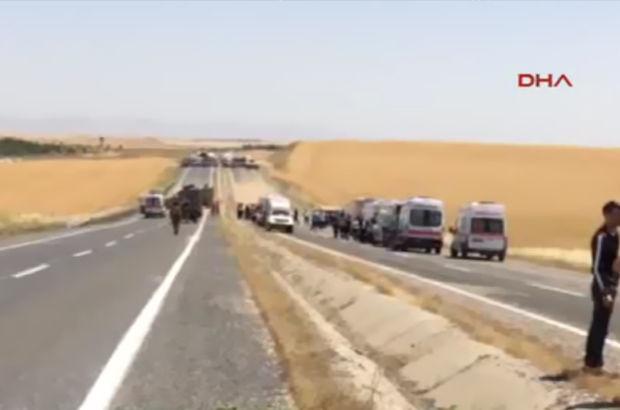 Şırnakta askeri aracın geçişi sırasında patlama: 7 asker yaralı