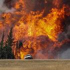 Kanada'da bir aydır süren yangının külleri İsviçre'de