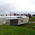 Yozgat'ta otobüs kazası: 3 ölü, 15 yaralı