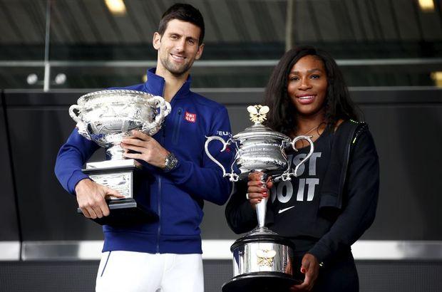 Novak Djokovic ve Serena Willams
